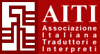 logo AITI - Associazione Italiana Traduttori e Interpreti